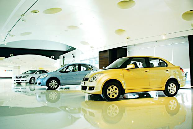 Maruti aims to sell at least 1.2 million cars this year; it sold 1.17 million units in 2012-13.Photo: Pradeep Gaur/Mint