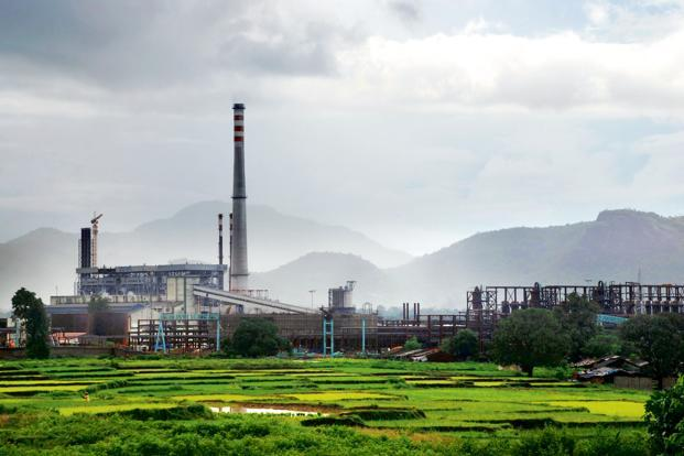 A file photo of Vedanta's alumina refinery at Lanjigarh. Photo: AFP