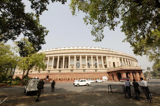 The ADR study says almost one in three members of the current Lok Sabha have criminal cases against them, almost the same proportion of members of current state assemblies that have cases against them. Photo: HT<br />