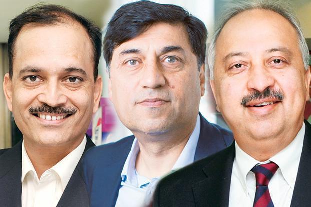 (From left to right) Nitin Paranjpe, Rakesh Kapoor and Atul Singh. ((From left to right) Nitin Paranjpe, Rakesh Kapoor and Atul Singh.)