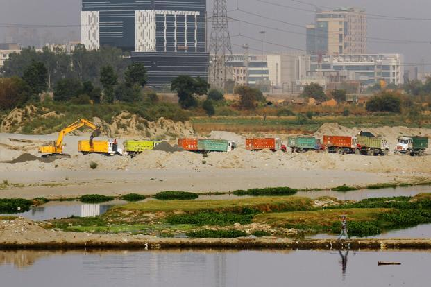 The order comes as a controversy is growing over the Uttar Pradesh government's suspension of Indian Administrative Service officer Durga Shakti Nagpal, who had conducted a drive against the sand mafia in the state. Photo: Hindustan Times (Hindustan Times)