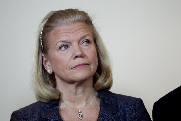 During her first visit to India last month, IBM CEO Virginia Rometty's top agenda was the meeting with Bharti Airtel chairman Sunil Bharti Mittal. Photo: Bloomberg (Bloomberg)