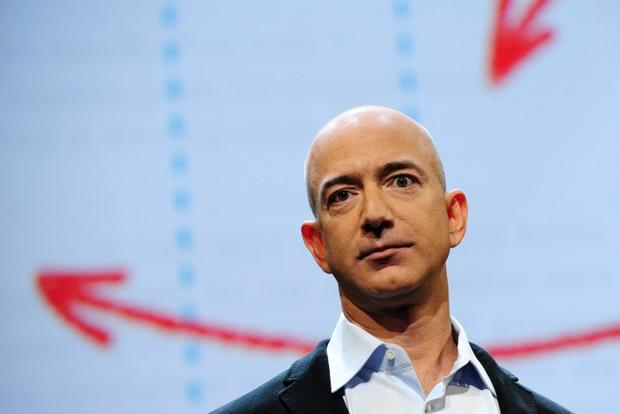 A file photo of Amazon CEO Jeff Bezos. Bezos will buy the struggling 'Washington Post' newspaper from longtime owner the Graham family for $250 million. Photo: AFP