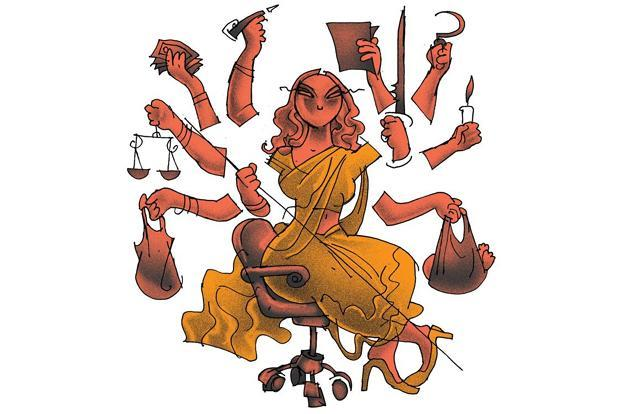 essay durga in the workplace livemint illustration by jayachandran mint