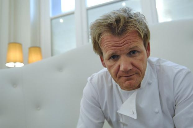 A file photo of chef Gordon Ramsay. Photo: AFP