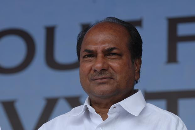Defence minister A.K. Antony. Photo: Hemant Mishra/Mint
