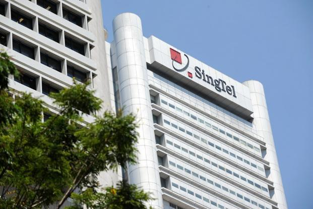 SingTel reported on Wednesday a 7% rise in its first-quarter net profit. Photo: AFP (AFP)