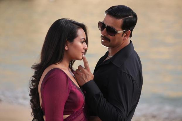 Sonakshi Sinha and Akshay Kumar have no chemistry as a pair in a one-sided love story