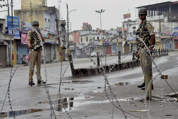 Curfew in selected areas of Kishtwar town has been relaxed for an hour and a half from 1 pm on Saturday, says district magistrate Kishtwar. Photo: PTI