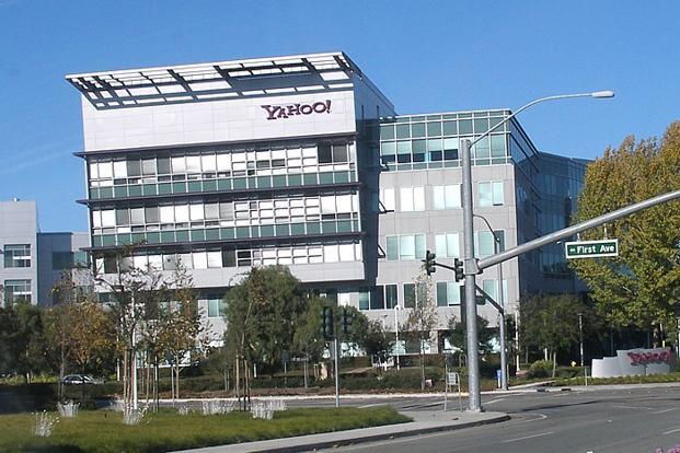 A file photo of Yahoo headquarters next to Mathilda Avenue in Sunnyvale, California, US. Photo: Wikimedia Commons