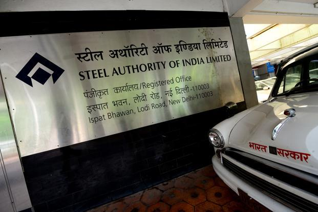 SAIL had clocked 35.25% dip in stand-alone net profit to `450.91 crore during the first quarter of the current fiscal due to increased costs. Photo: Mint