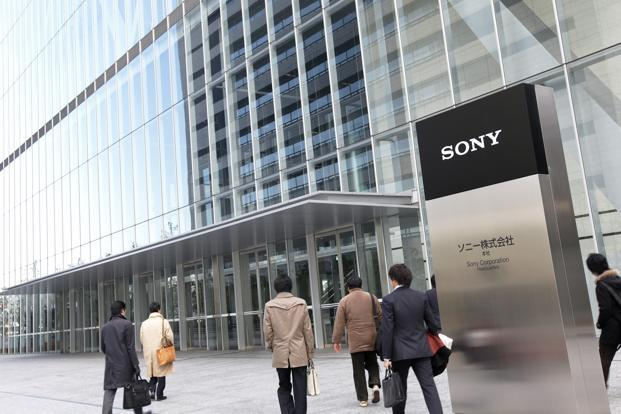 A file photo of Sony Corp. headquarters in Tokyo, Japan. Photo: Bloomberg