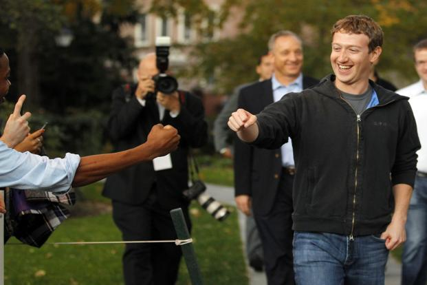 Mark Zuckerberg says the idea of Internet.org took root in conversations with other companies about the common goal of making Internet access available to everyone in the world. Photo: Reuters