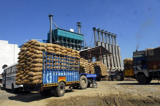 Image result for cereals truck india