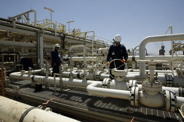 Oil prices may continue to rise merely in anticipation of an attack, as the political risk premium increases. Photo: AFP