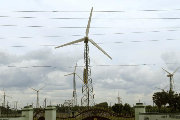 While all major wind markets, including China, are expected to slow this year, the US is set to experience the sharpest decline with annual installations plunging 85%. Photo: Hemant Mishra/Mint (Hemant Mishra/Mint)