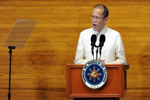 A file photo of President Benigno Aquino. Photo: AFP