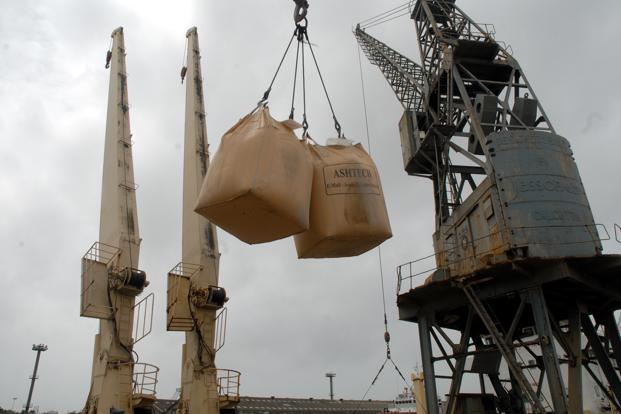 India denies security clearance to China's crane maker ZPMC