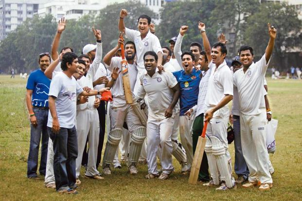2012 champions Payyade Sports Club. Photo: Kalpak Pathak/Hindustan Times
