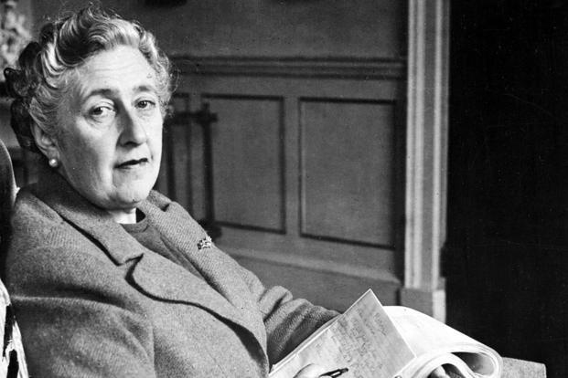 A file photo of Agatha Christie. Along with Miss Marple, the diminutive Poirot is one of Christie's best-loved characters. Photo: AFP (AFP)