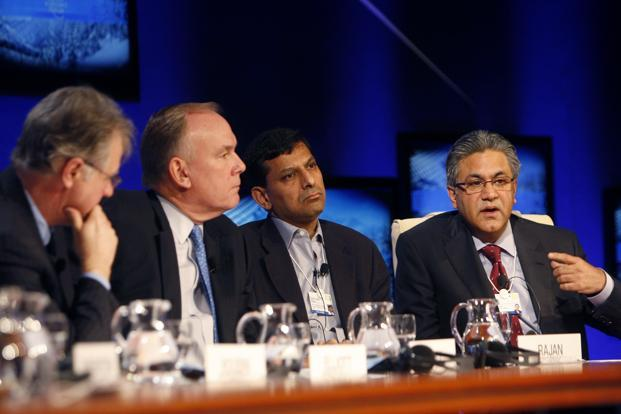 Rajan at the World Economic Forum (WEF) in Davos on 27 January 2010. Never one to go with the crowd, Rajan came under attack as an anti-market Luddite, wistful for old days of regulation, for his 2005 warning of an impending global crisis. Reuters