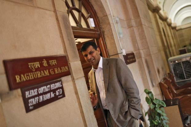 As India's chief economic adviser. Raghuram Rajan outside his room at the finance ministry in New Delhi on 6 August 2013. Earlier Rajan chaired the Committee on Financial Sector Reforms, which submitted its report in September 2008. Reuters