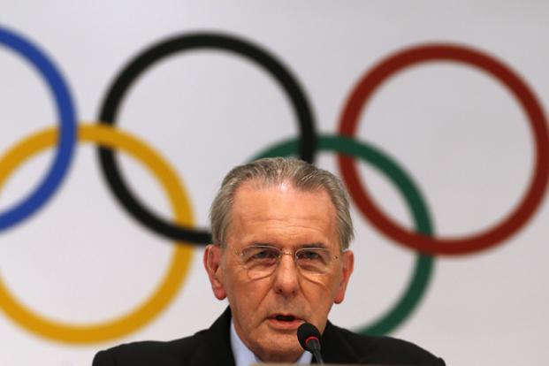 International Olympic Committee president Jacques Rogge of Belgium speaks during a news conference in Buenos Aires on Wednesday. Photo: Reuters   (Reuters)