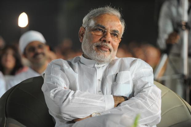 Modi has become popular in India's corporate world where he is seen as a market-friendly leader who has energetically wooed industry to set up factories in his state. Photo: Mint