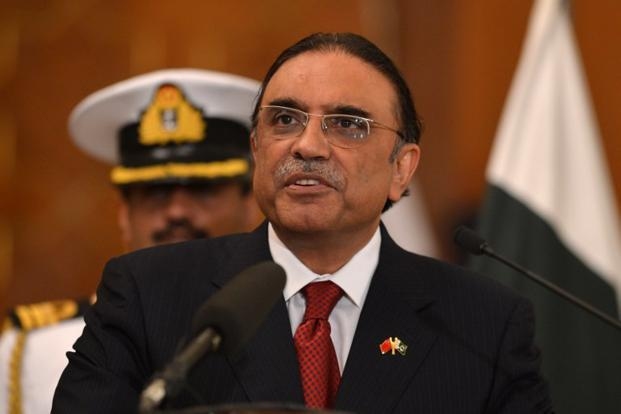 A file photo of Asil Ali Zardari. Photo: AFP (AFP)