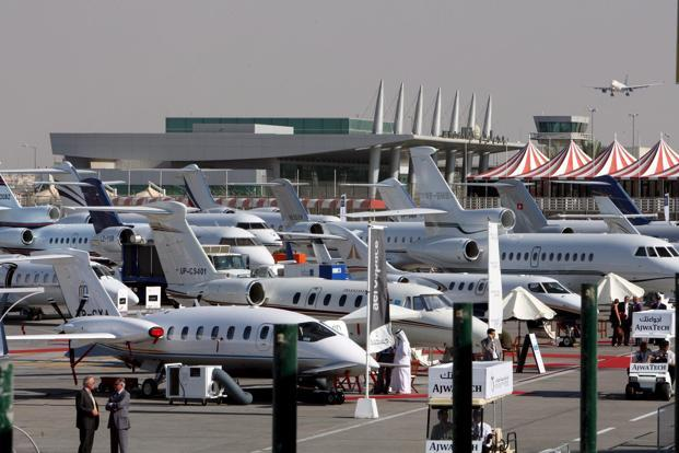 A file photo of VIP jets meant for private or corporate use. Photo: EPA