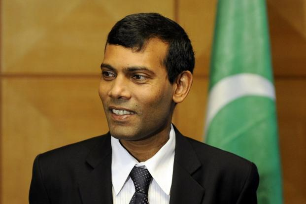 A file photo of Maldivian former president Mohammed Nasheed. Photo: AFP