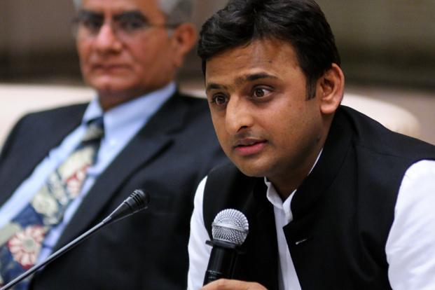 Uttar Pradesh chief minister Akhilesh Yadav said that those behind the clashes will not be spared. Photo: Pradeep Gaur/Mint