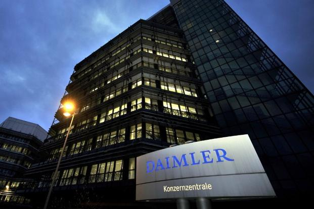Daimler is focusing on so-called highly automated driving, in which cars master situations such as cruising the motorway or manoeuvring through traffic jams while the driver relaxes., self-driving car, auto,  Photo: AFP