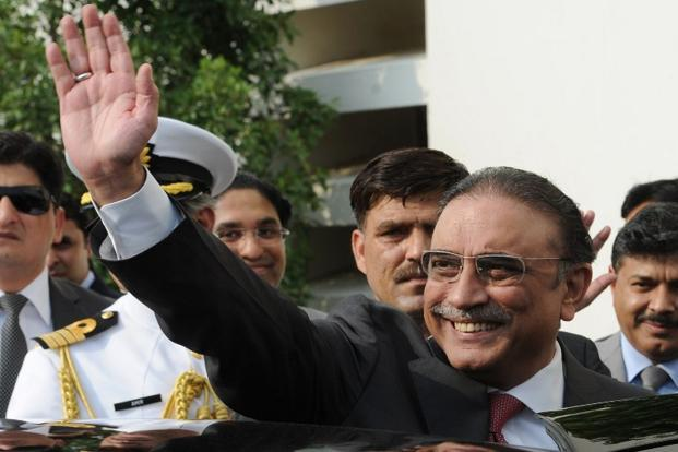 Zardari became president after former military ruler Pervez Musharraf was forced to resign in 2008. Photo: Aamir Qureshi/AFP