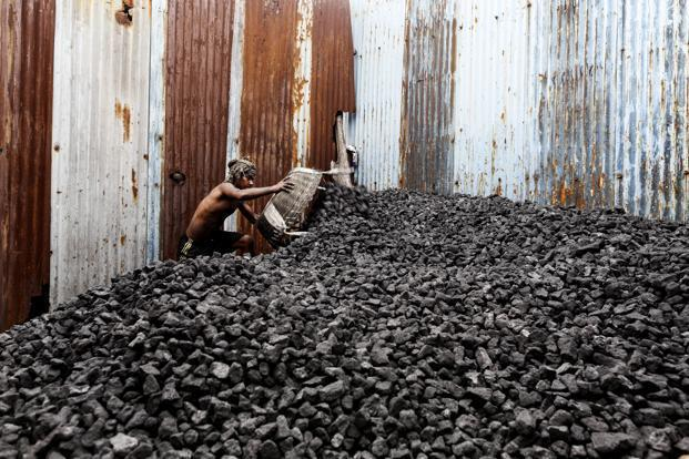 India's coal imports of around 140mt a year are rising, encouraging many big and small import firms to mushroom, but few have been hedging their currency risk, which has contributed to the latest impasse. Photo: Bloomberg  (Bloomberg )
