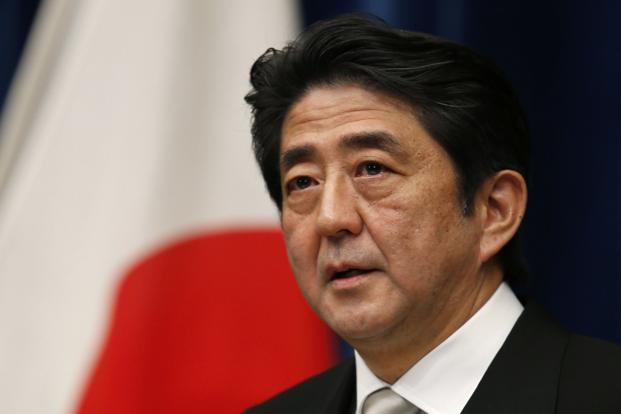 Abe vows to boost Japan defence amid 'provocations' - Livemint