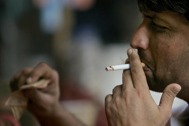 India is home to 275 million smokers and nearly half of all cancer cases in the country are attributed to tobacco use. Photo: Bloomberg (Bloomberg)