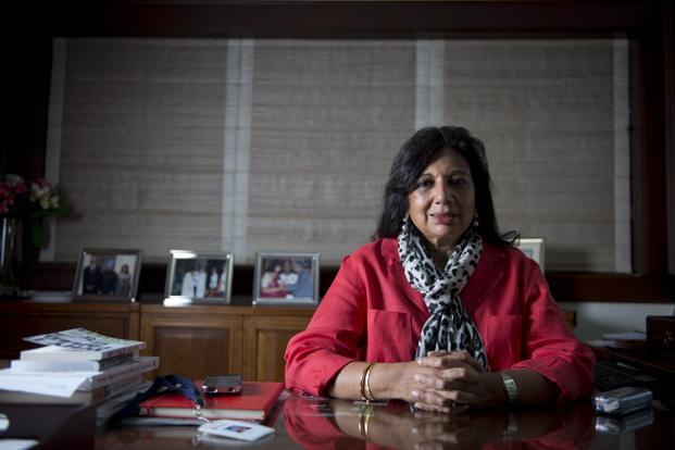 Biocon's chairperson and managing director Kiran Mazumdar-Shaw says the credibility of Indian innovation is so poor, doctors don't want to risk original innovation. Photo: Aniruddha Chowdhury/Mint
