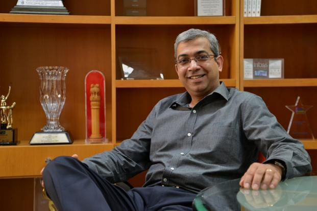 For Ashok Vemuri, the fact that there were two other strong contenders for the top job at Infosys—V. Balakrishnan and B.G. Srinivas—may have accelerated his decision to jump ship. Photo: Hemant Mishra/Mint