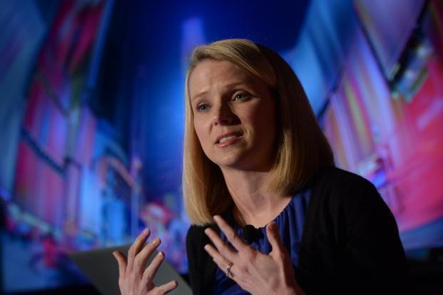 Yahoo's chief executive officer Marissa Mayer. Photo: Emmanuel Dunand/AFP