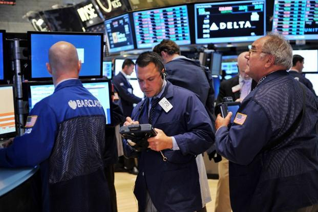 The Dow Jones was down 2.99 points at 15,323.61. The S&P 500 was down 3.30 points at 1,685.83. The Nasdaq was down 1.68 points at 3,723.33. Photo: AFP