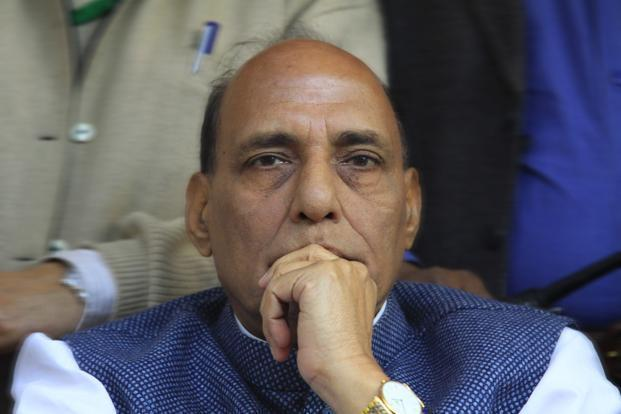A file photo of Rajnath Singh. Photo: Hindustan Times