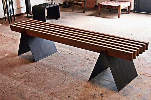 The Slat Bench