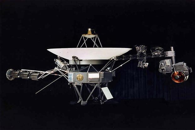 With Voyager 1 leaving the solar system, one can't help hoping to find another life in our universe. And if it does, the Voyager is equipped with a gold-plated record with images from Earth and greetings in 55 languages. AFP