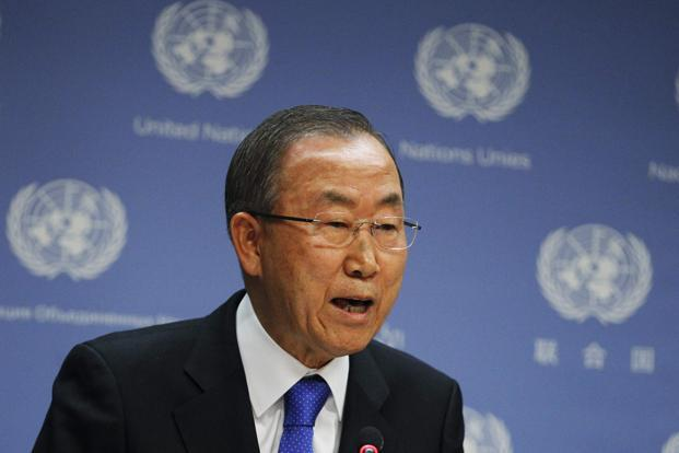 UN secretary-general Ban Ki-moon. Photo: Reuters