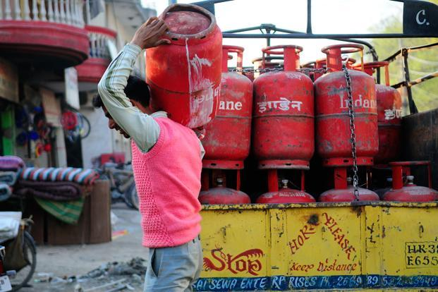 A household is entitled to nine subsidized cylinders in a year. Photo: Priyanka Parashar/Mint