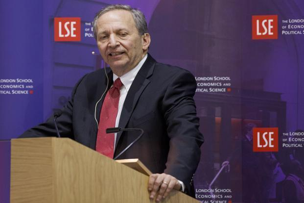 A file photo of Lawrence Summers. Photo: Bloomberg