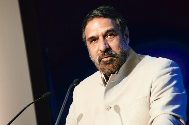 Trade minister Anand Sharma. Photo: Mint