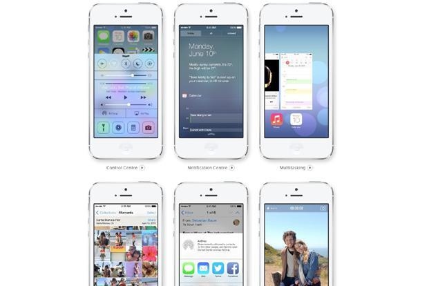 The iOS 7 is a new direction for Apple, but enough remains familiar that it won't alienate people.