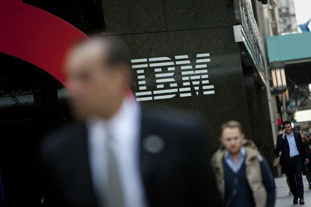IBM's annual report of 2012 begins by highlighting the fact that the share of revenue from software grew from 27% in 2000 to 45% in 2012. Photo: Bloomberg